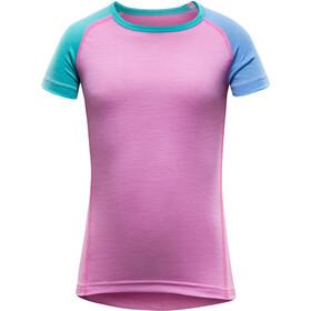 Devold Kids Breeze T-Shirt PEONY
